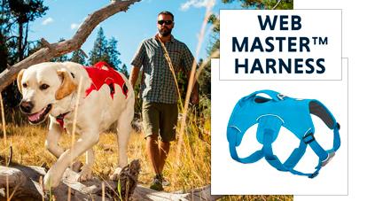 Conozca cómo medir y usar RUFFWEAR WEB MASTER™ HARNESS. De venta en Best for Pets.